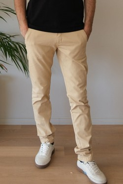 Chino Axel coloris Beige